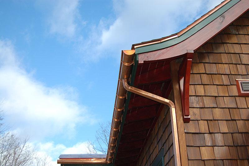 Northeast Seamless Gutter Co Copper